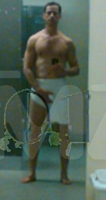 TMZ's Pic of Weiner Holding His Junk