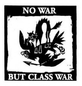 No War, But Class War