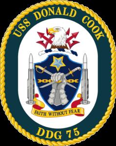 813px-USS_Donald_Cook_DDG-75_Crest